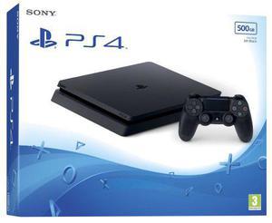 Playstation 4 Slim 500 Gb Joystick + Hdmi + Auricular