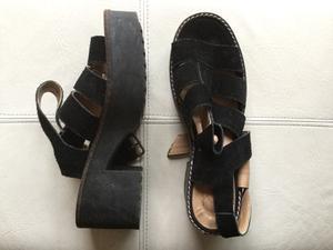 Sandalias mujer casi sin uso