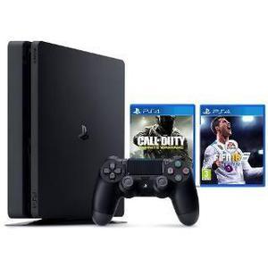Sony Ps4 Slim Ps4 1tera+joystick+juego+local A La Calle!!