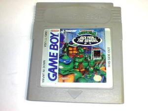 Teenage Mutant Ninja Turtles 2 Back Fron The Sewers Gb