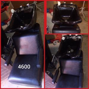 Vendo sillon lavacabeza usado