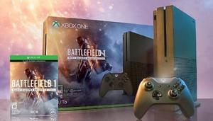 Xbox One S 1 Tb 4k Edicion Especial Battlefield 1
