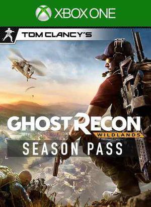 Xbox One: Tom Clancys Ghost Recon Season Pass (no Es Juego)