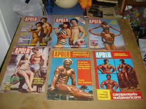 lote de revistas antiguas apolo