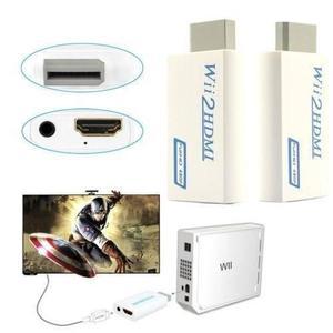 Conversor Wii A Hdmi 720p/1080p Conectala Wii Por Cable Hdmi