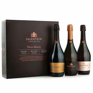 Estuche Champagne Salentein Set X 3 Botellas