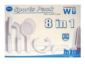Set De Accesorios Deportivos 8 Piezas Para Wii Caja Cerada