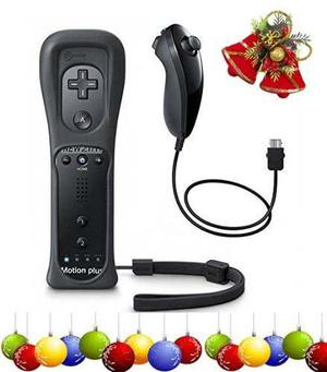 Super Combo: Built In Wiimote Negro + Nunchuck De Regalo !!!