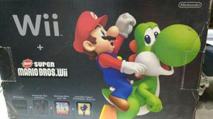 Wii Con 6 Juegos Y 2 Joystick