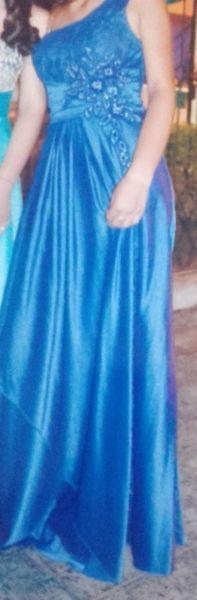 vendo bello vestido y sandalia para fiesta o egresado