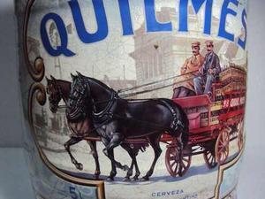 Barril Cerveza Quilmes Litografiado Edicion Limitada .