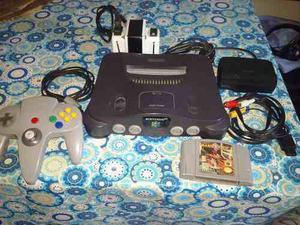 Consola Nintendo 64 Americana Excelente Estado