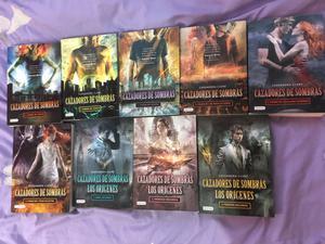 Libros usados Saga Cazadores de Sombras