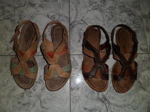 Lote 3 pares calzado mujer, sandalias y stilettos