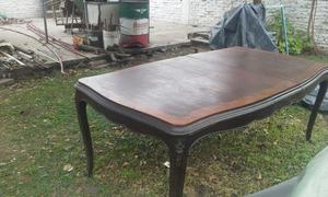 Mesa de comedor estilo Luis XV Vendo URGENTE