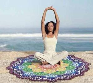 Oferta! Manta Mandala Playa Yoga Original -mercado Importado