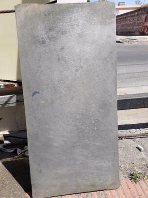 PLACA DE ALUMINIO DE 45X90 DE 2CM DE ESPESOR