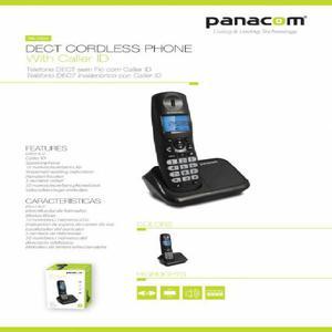 TELEFONO INALAMBRICO PA7934 DUO NUEVO 2 APARATOS funcion de