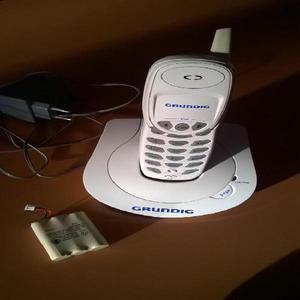 Telefono Inalambrico Blanco Grundig