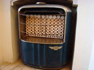 antigua estufa a gas impecable