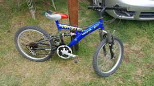Bicicleta para niños. Rodado 20 con 15 cambios.$