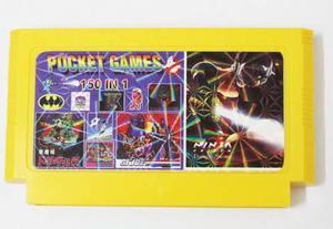 Cartucho Family - Pocket Games 150 In 1 - Juegos Sin Repetir