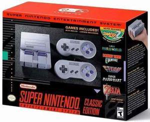 Consola Snes Super Nintendo Mini + 2 Joysticks + 21 Juegos