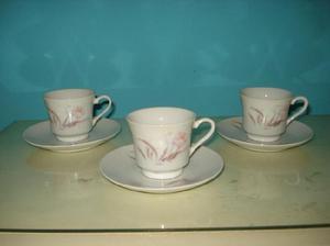 Juego De Cafe De Porcelana China. Muy Lindo