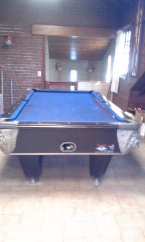 Mesa De Pool Cabeza De León Y Mármol