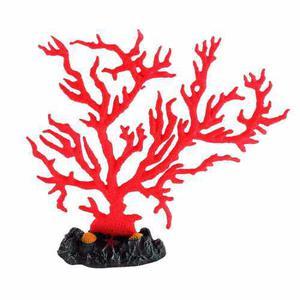 Rama Coral Fluo Para Pecera Adorno 17 Cm Alto