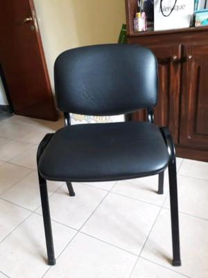 Vendo sillas de oficina fijas y con rosario posot class for Sillas de oficina usadas