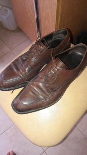 Zapatos De Cuero Hugo Boss Nro 41