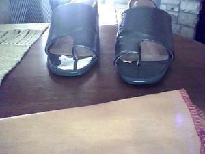 sandalias grises LADY STORK