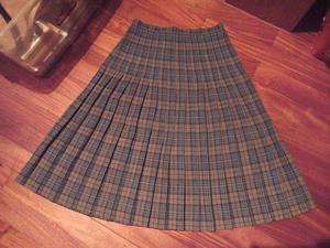Pollera falda Colegiala Larga Tiro Alto ¡modelo Único!