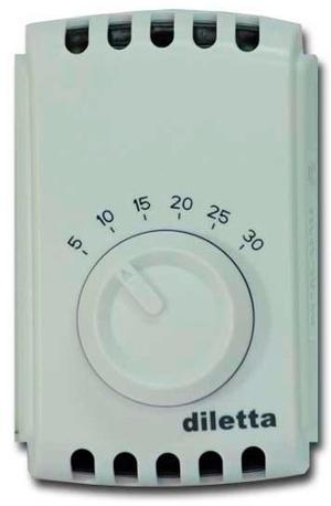Termostato digital inalambrico diletta caldera posot class for Termostato analogico calefaccion