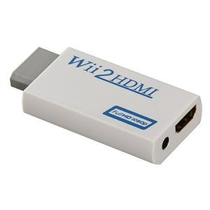 Adaptador De Audio Y Video Sunvisk Wii A Hdmi Con Salida Par