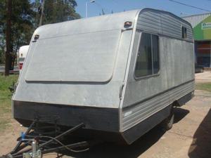 Casa rodante 4.10 mtrs de aluminio!! Para reparar!!