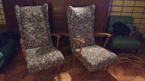 Hermosos sillones antiguos estilo