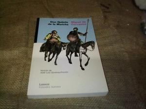 Libro Don Quijote de la Mancha.