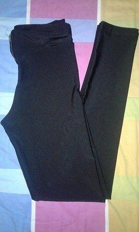 calza negra brillosa talle 1 o 2