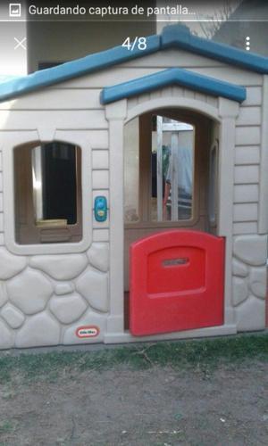 casita para niños de primera, con timbre