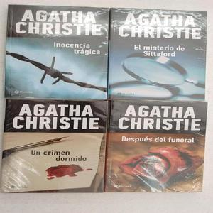 4 títulos de Agatha Christie editorial Planeta