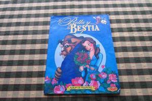 Album de figuritas La Bella y La Bestia!!!, Disney!!!,