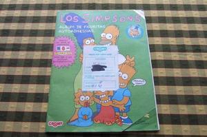 Album de figuritas de Los Simpsons, Cromy!! 1992!!,,