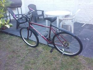 Bicicleta Fisher Rodado 26 En Excelente Estado Sin Detalles!