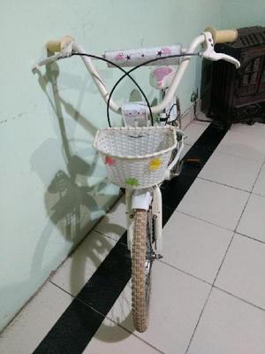 Bicicleta Niña Rodado 20 Usada