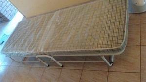 Cama Catre Plegable Con Colchon Incluido