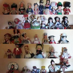 Muñecos de colección antiguos