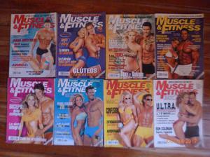 Muscle Fitnes 35 revistas pesos cada una 500 total.