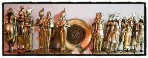 Piezas Milenarias Egipcias De Protección Y Coleccion